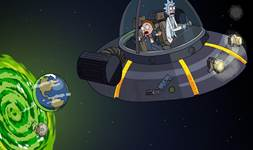 Rick and Morty background 26