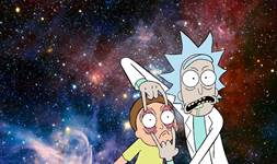 Rick and Morty background 6
