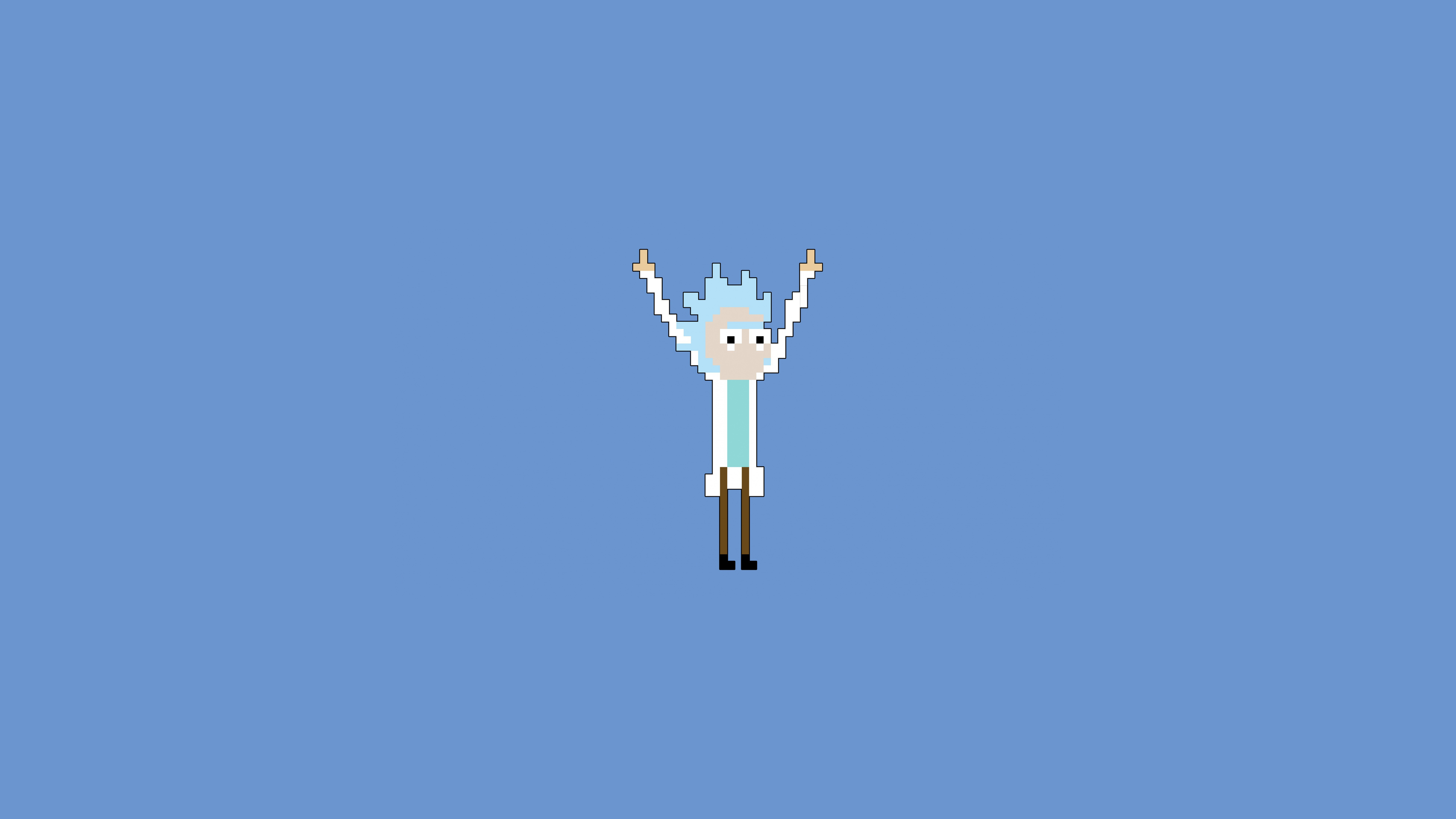 Rick and Morty background 1