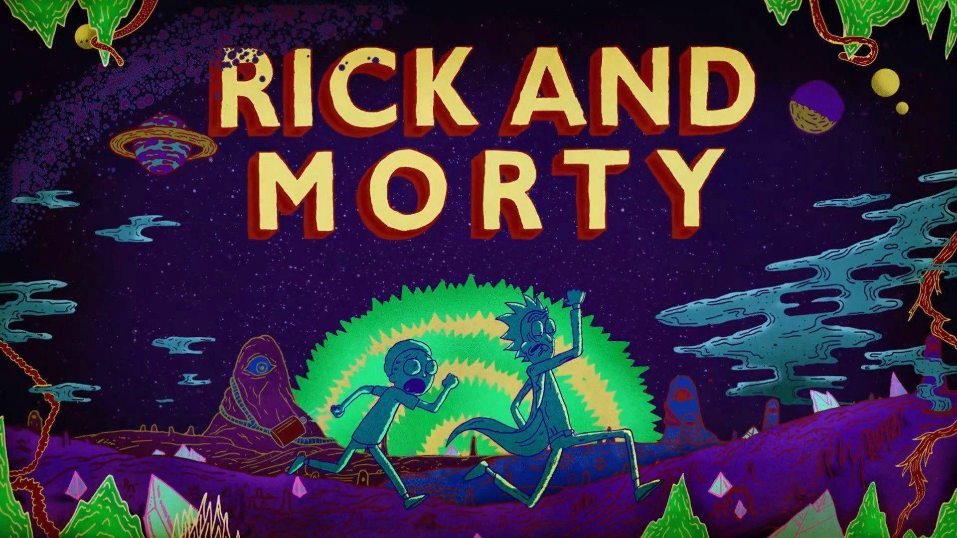 Rick and Morty background 12