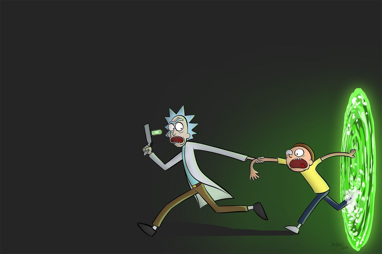 Rick and Morty background 20