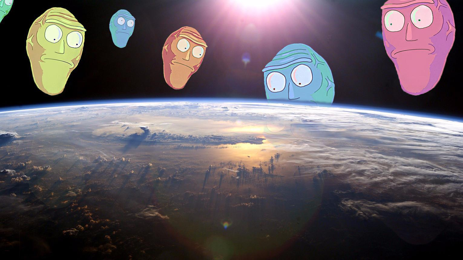 Rick and Morty background 29