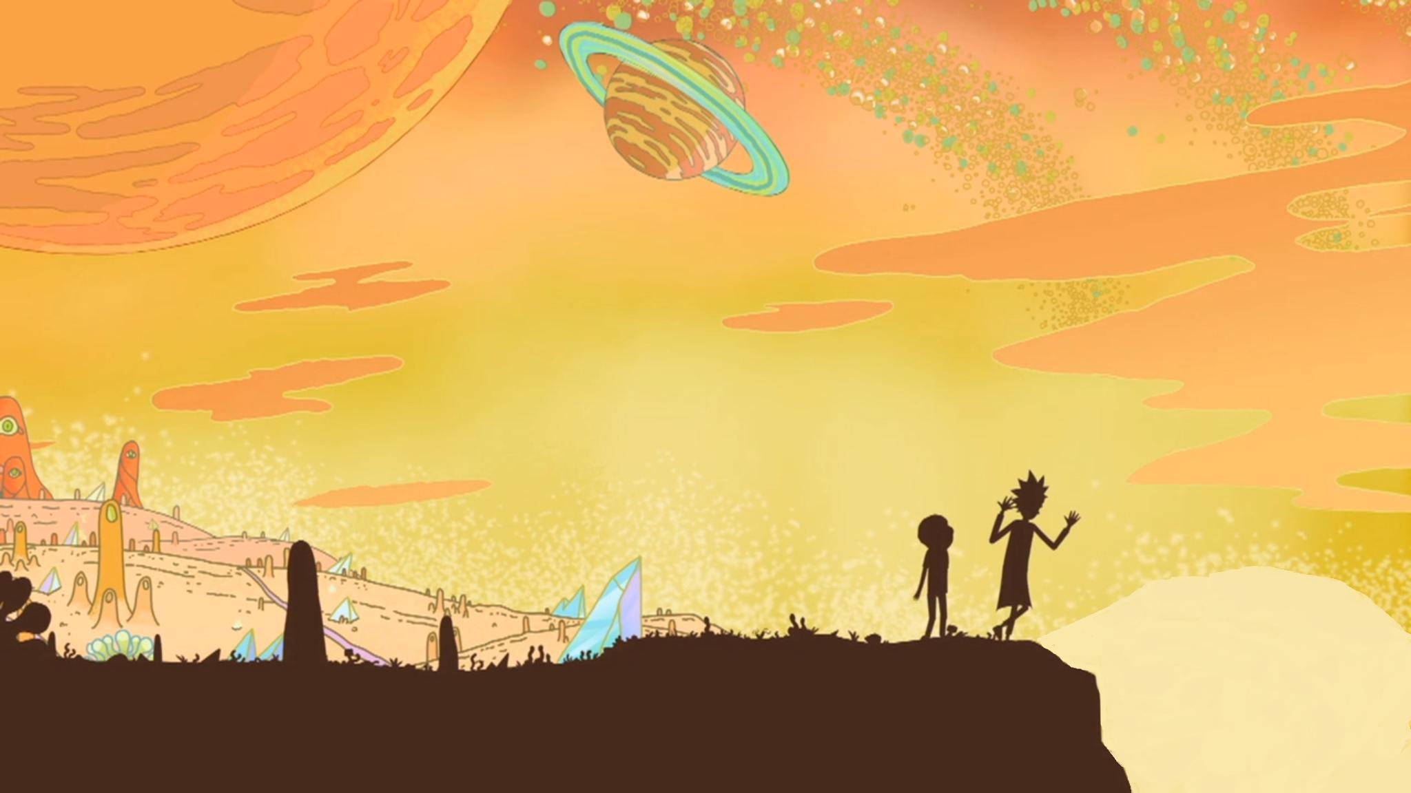 Rick and Morty background 3