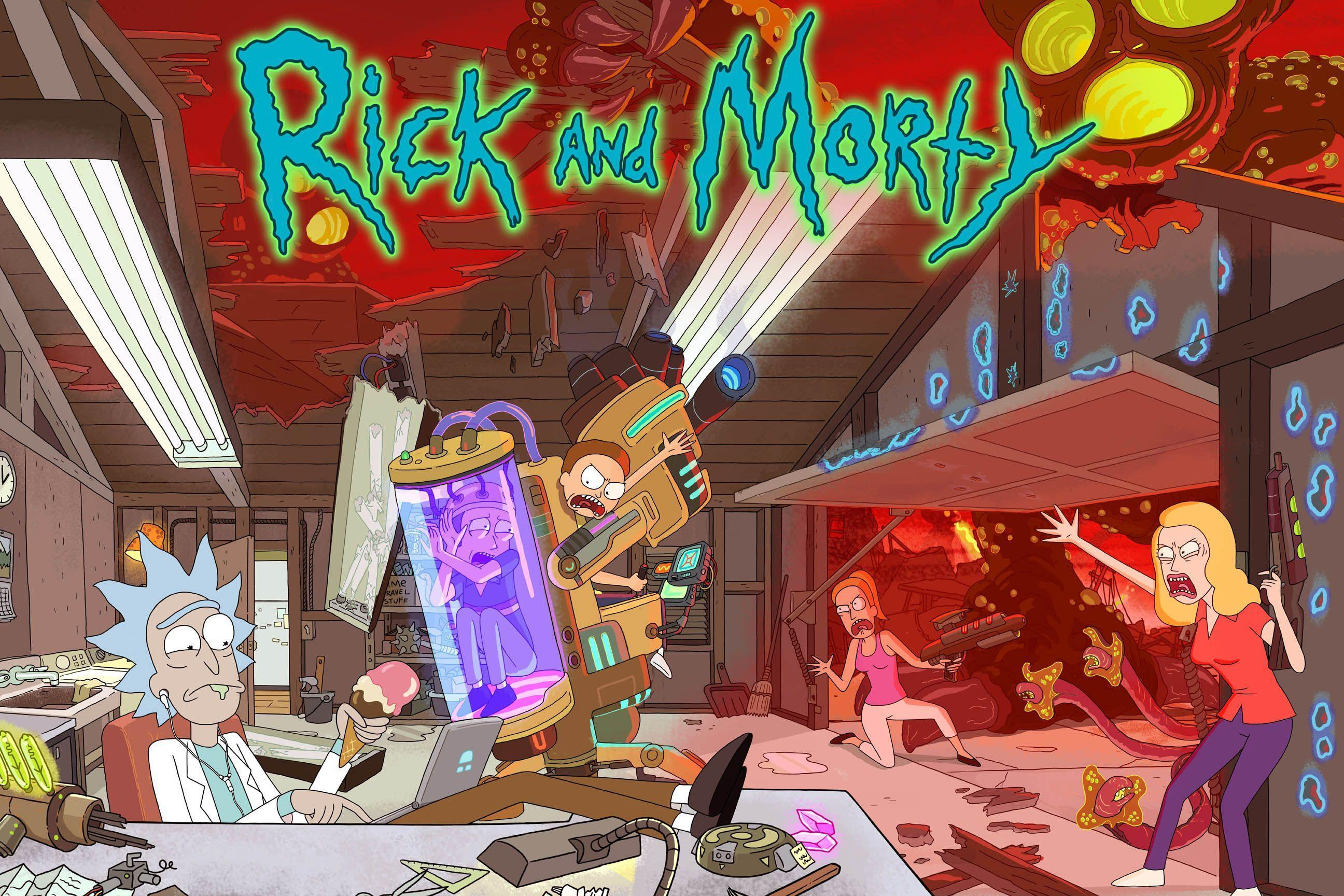 Rick and Morty background 31