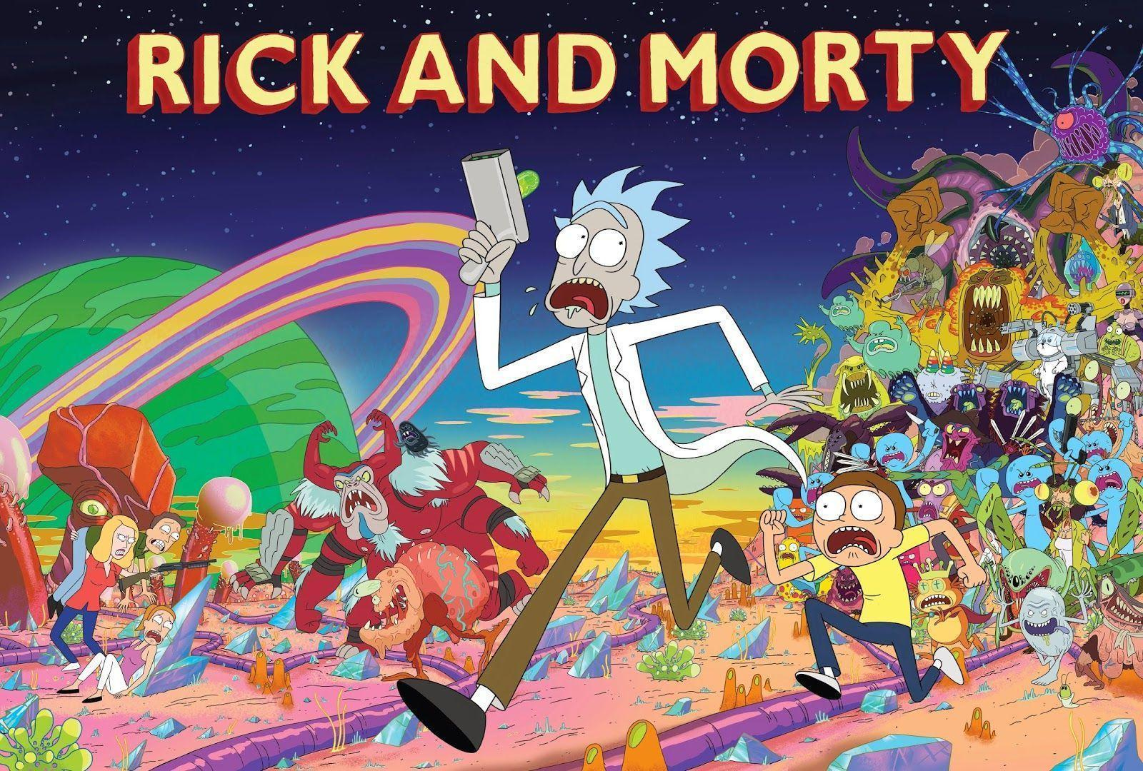 Rick and Morty background 4