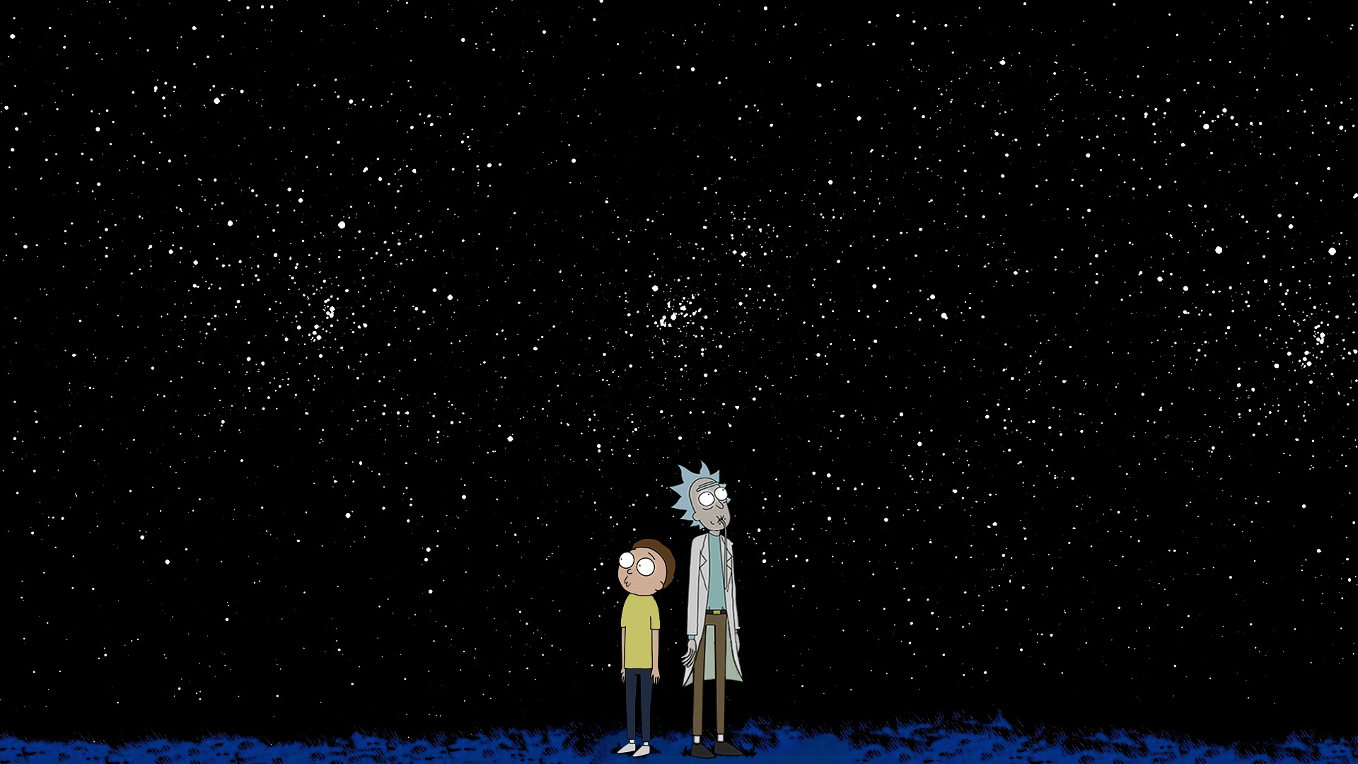 Rick and Morty background 42