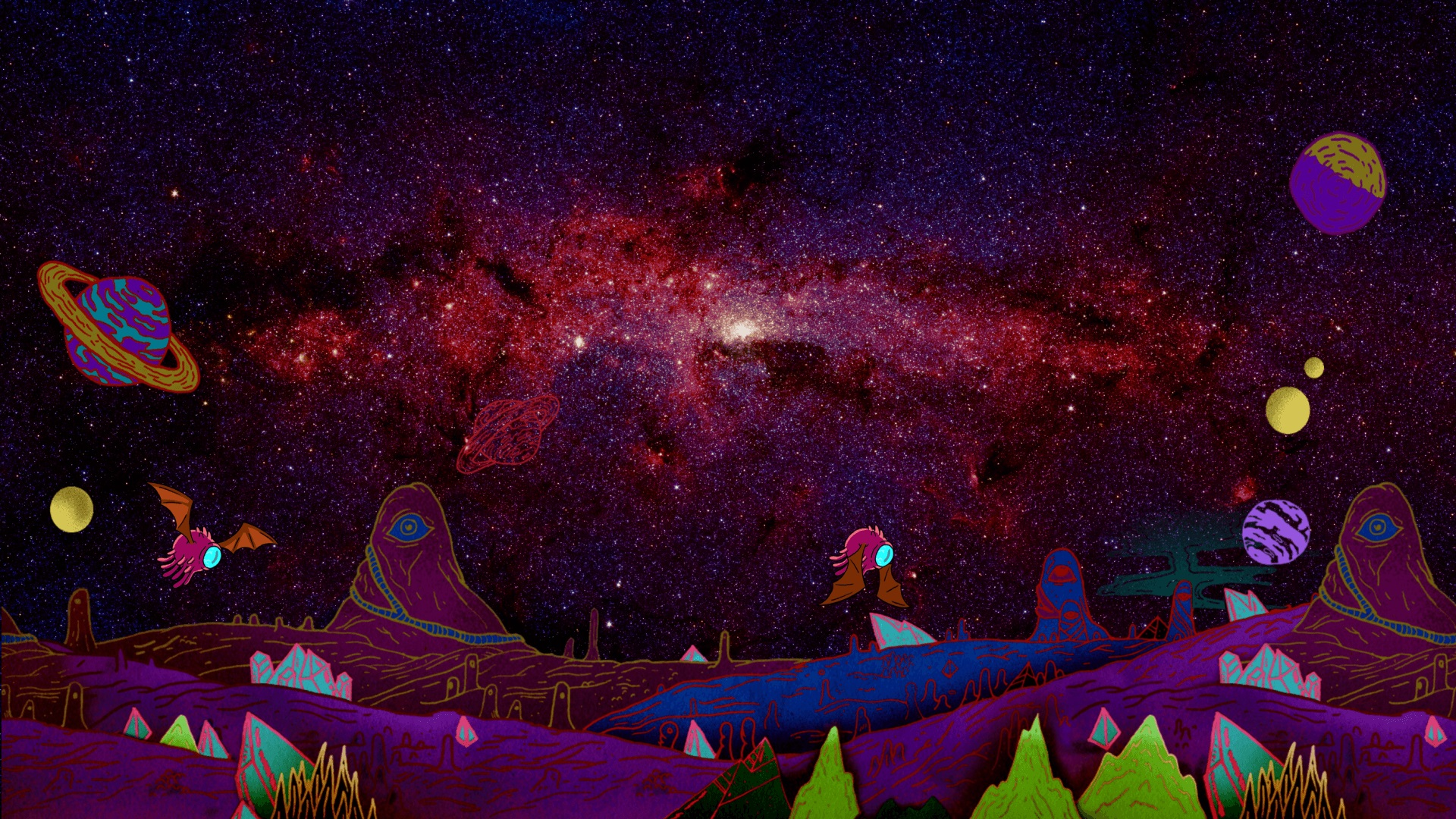 Rick and Morty background 43