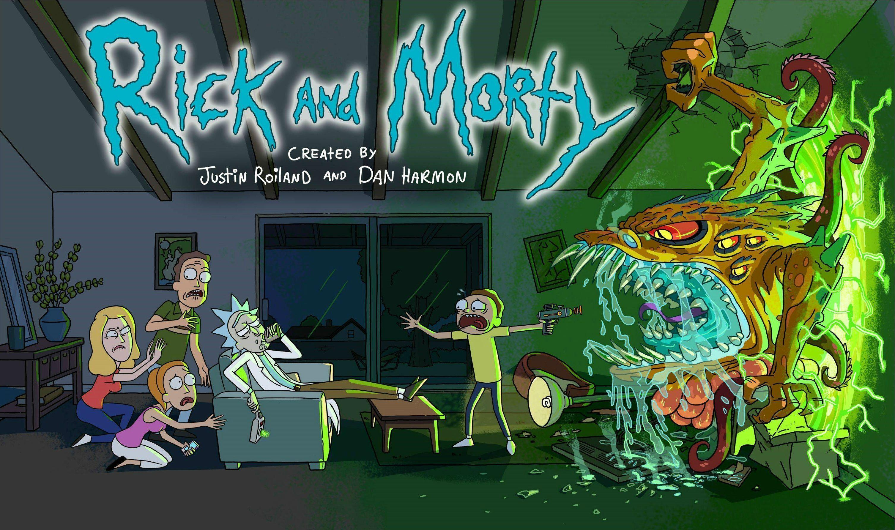 Rick and Morty background 5