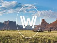Westworld logo season 2 background 7