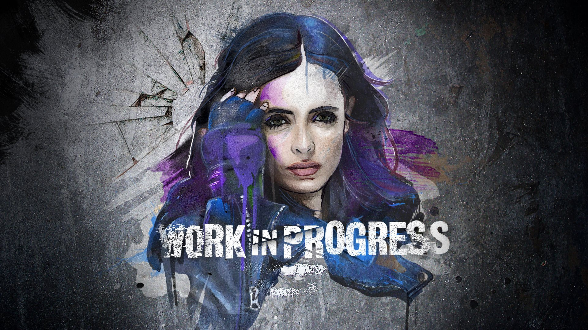 Jessica Jones Graffiti