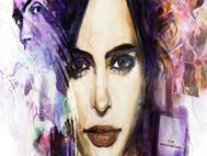 Jessica Jones Splash Face